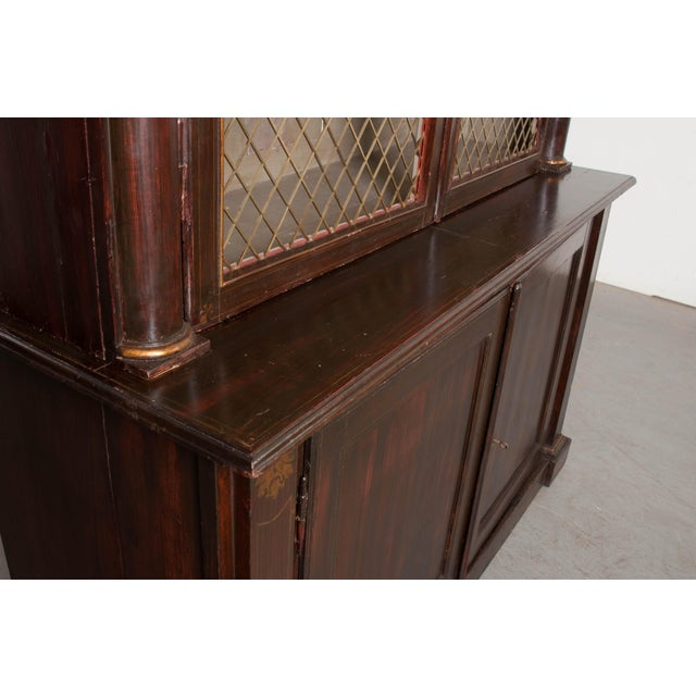 19th Century English Regency Library Bookcases - a Pair For Sale In Baton Rouge - Image 6 of 13