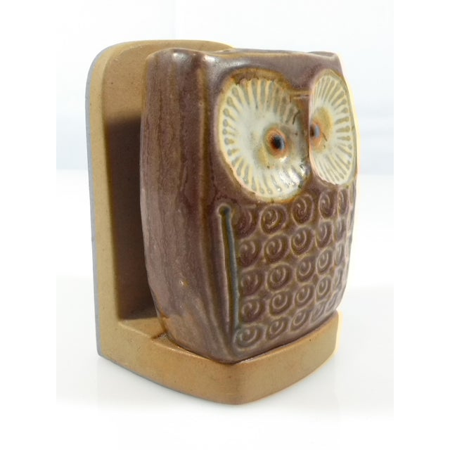 UCTCI of Japan Owl Stoneware Pottery