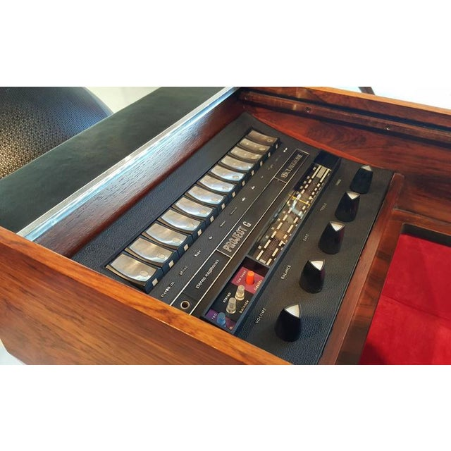 Brown First Generation Clairtone Project G T4 Rosewood Stereo System For Sale - Image 8 of 11