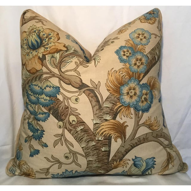 Ralph Lauren Pillow - Tree of Life Design - Pair Available For Sale - Image 12 of 13