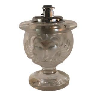 Lalique Art Deco Lion Lighter For Sale