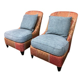 Donghia Cooper Chairs, a Pair For Sale