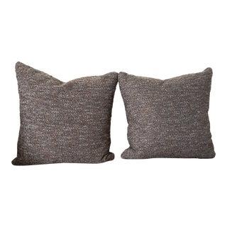 "21"" Kravet Wool Pillows - a Pair For Sale"