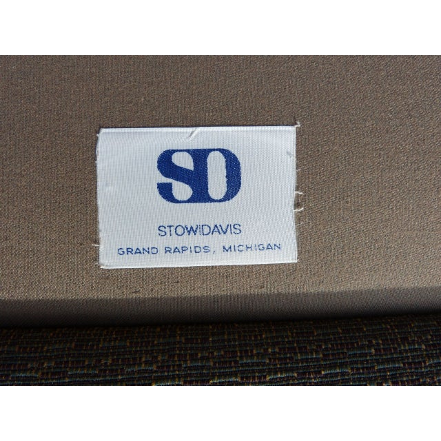 Stow & Davis Cube Club Chairs - A Pair - Image 6 of 8