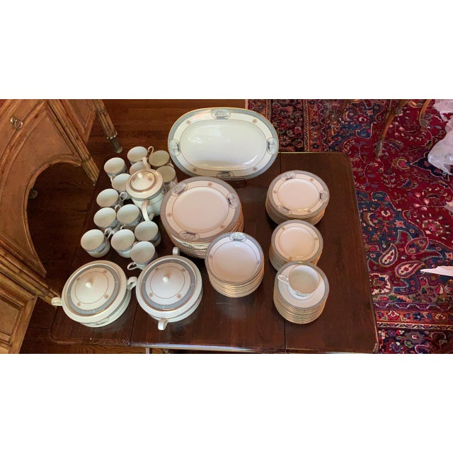 78 Pieces Noritake China Service for 12 Gorgeous High Sails Fine China by Noritake Noritake High Sails (4026) Ships and...