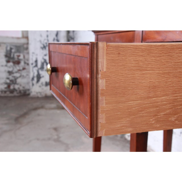Gold Hekman Regency Style Cherry Wood Sideboard Credenza For Sale - Image 8 of 13
