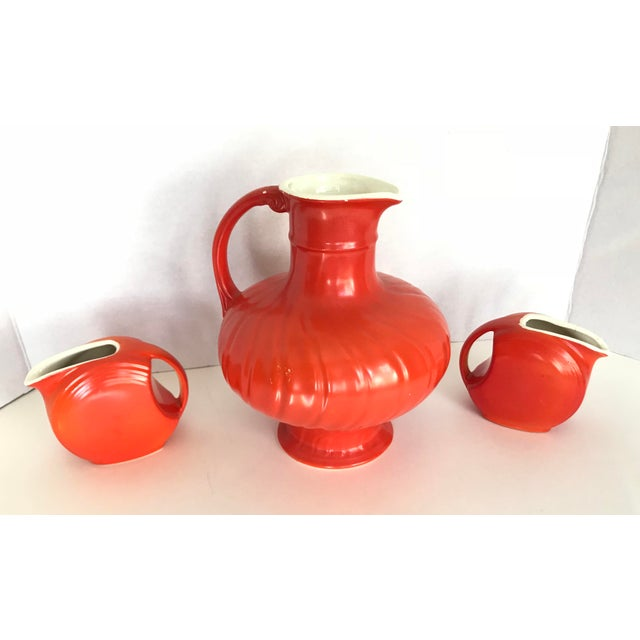Mid-Century Modern Mid-Century Modern Pitcher & Creamers - Set of 3 For Sale - Image 3 of 3