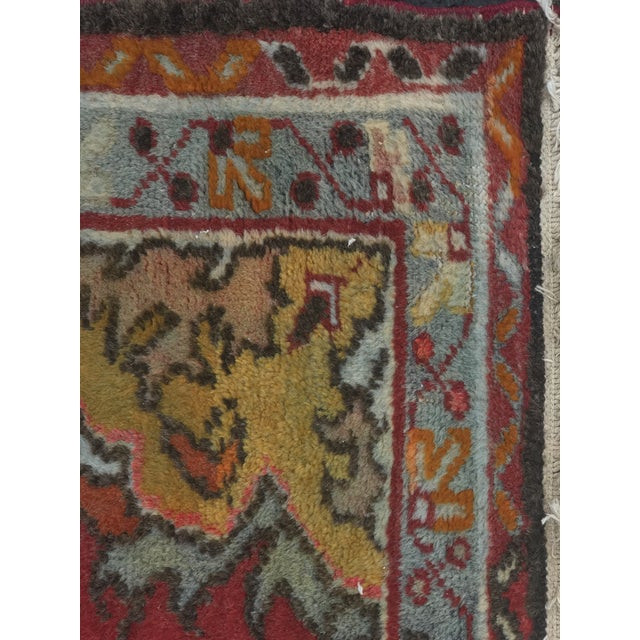 "Vintage Turkish Anatolian Rug - 2'8""x5'4"" - Image 8 of 11"