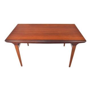 Johannes Andersen Teak Extension Dining Table For Sale