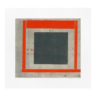 "Elizabeth Gourlay ""Slate Red Ash 2"" Print For Sale"