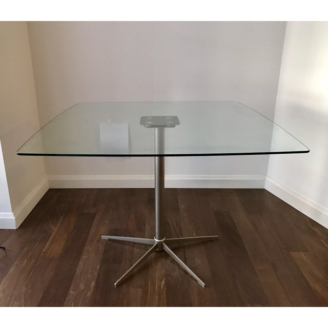 Square Glass Dining Table - Image 8 of 10