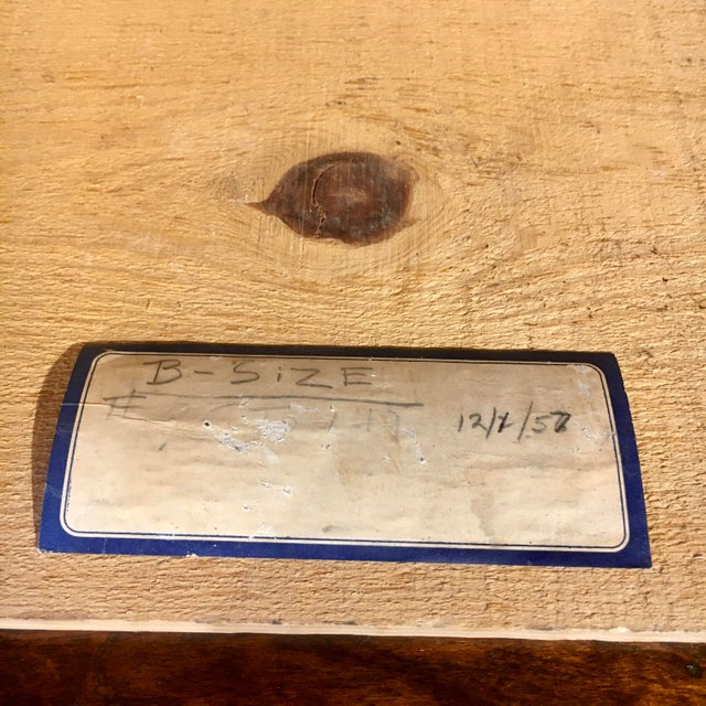 1950s Blue Flag Fruit Crate For Sale In Baltimore - Image 6 of 8