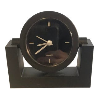 Italian Modern Swivel Desk Clock For Sale