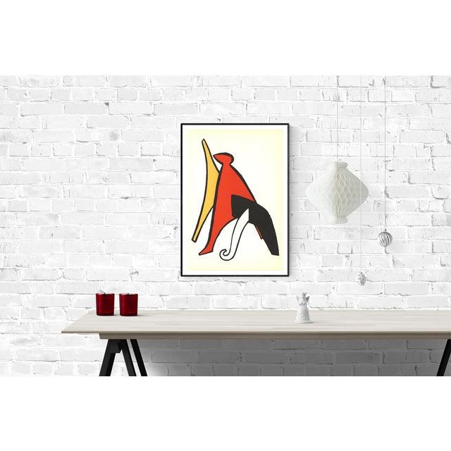 Alexander Calder 1963 DLM No. 141 Page 10 Lithograph by Alexander Calder For Sale - Image 4 of 4