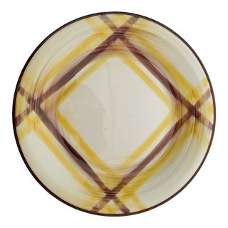 Early 20th Century Large Vernonware Organdie Round Platter For Sale