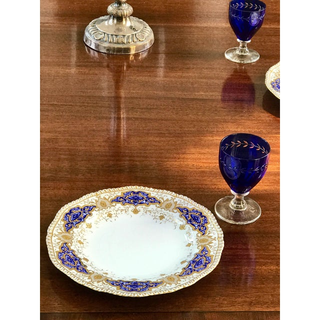 Baroque Coalport Dinner Plates - Set of 10 For Sale - Image 3 of 7