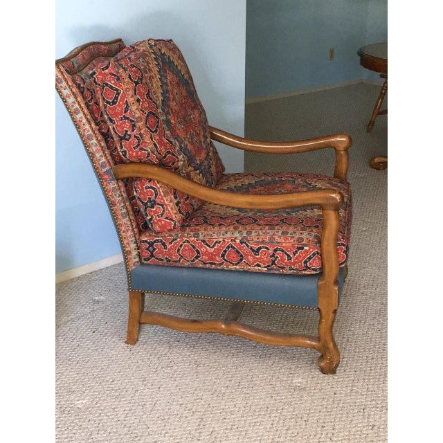 Mutton Bone Lounge Chair and Ottoman - Image 4 of 9