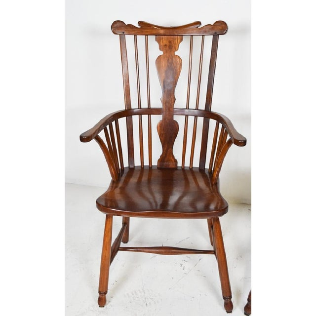 1950s Vintage L.& j.g. StickLey Dining Room Chairs - Set of 6 For Sale In Philadelphia - Image 6 of 12