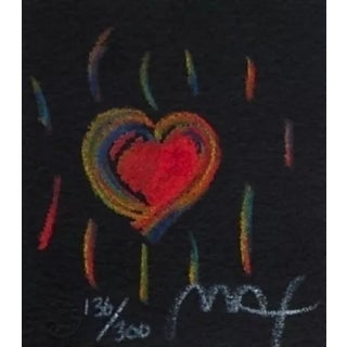 Peter Max Heart Suite III, #2 1997 For Sale