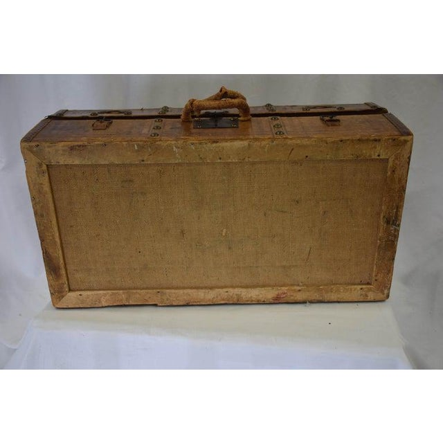 Antique Travel Dome Trunk For Sale - Image 10 of 13