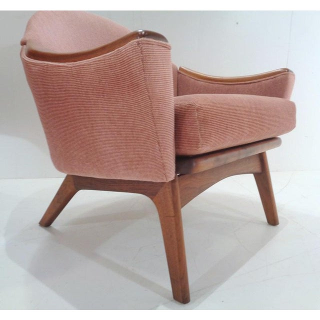 Danish Modern Mid Century His & Hers Adrian Pearsall Lounge Chairs For Sale - Image 3 of 13