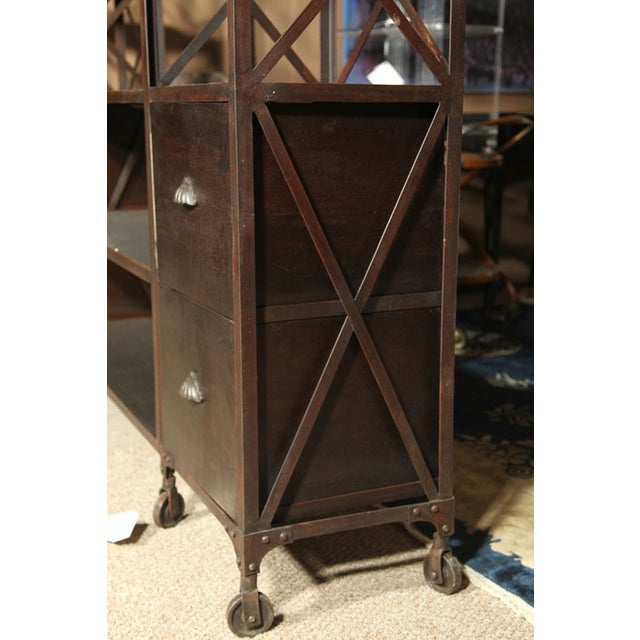 Entertainment Unit Made of Wood and Steel - Image 5 of 9