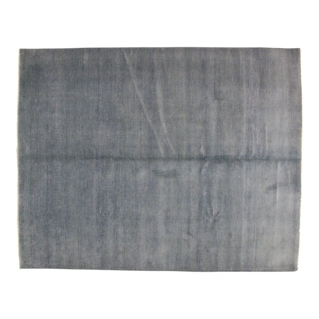 "Leon Banilivi Blue Kashkuli Carpet - 8'1"" x 10'2"" - Image 1 of 7"