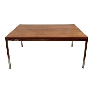 1950s Florence Knoll Rosewood Coffee Table Mid Century Modern For Sale