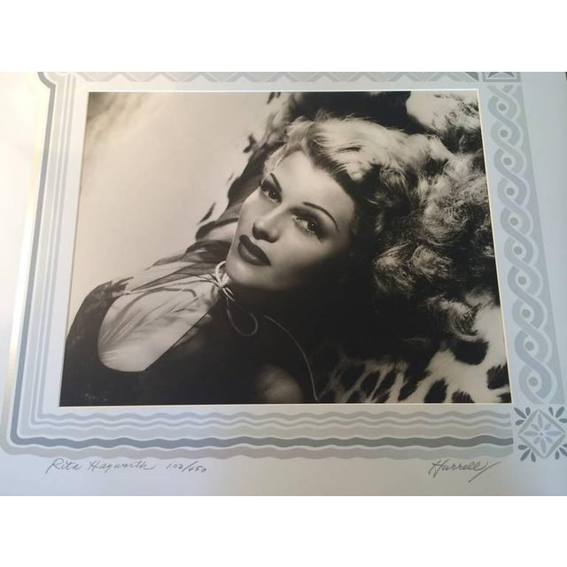 1940s Black and White Rita Hayward Photograph by George Hurrell For Sale - Image 5 of 9