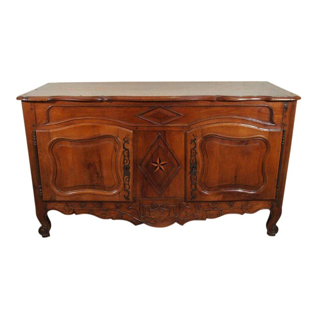 18th Century French Walnut Carved and Inlaid Sideboard, circa 1770 - Image 1 of 7