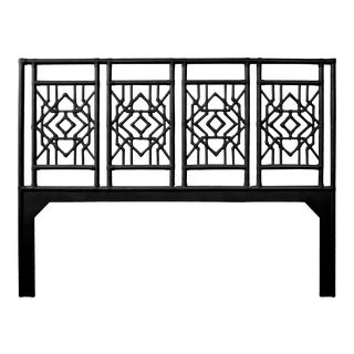 Tulum Headboard King - Black For Sale