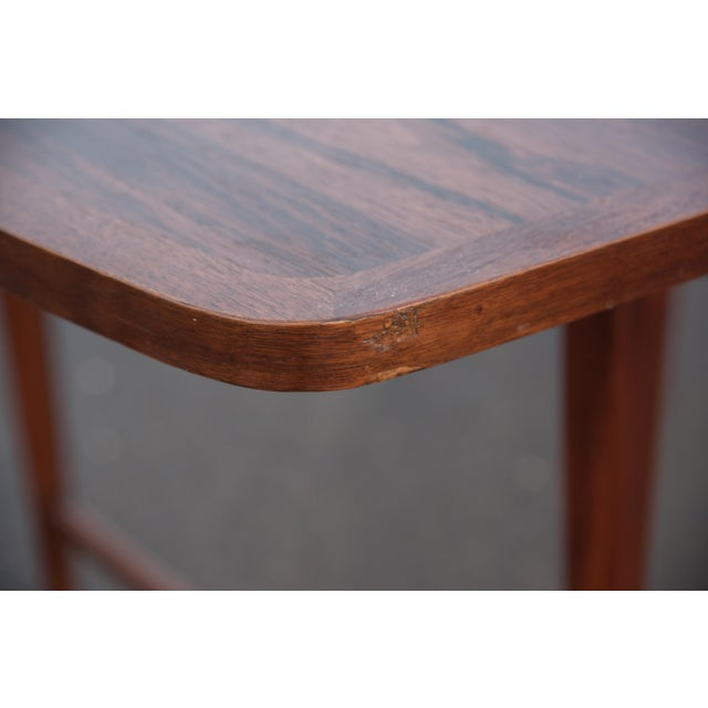 Brown 1960s Mid-Century Modern Paul McCobb Rosewood Lane Delineator Series Dining Table For Sale - Image 8 of 10