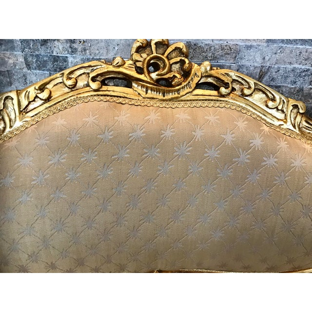2010s Modern Louis XV Love Seat For Sale - Image 5 of 7