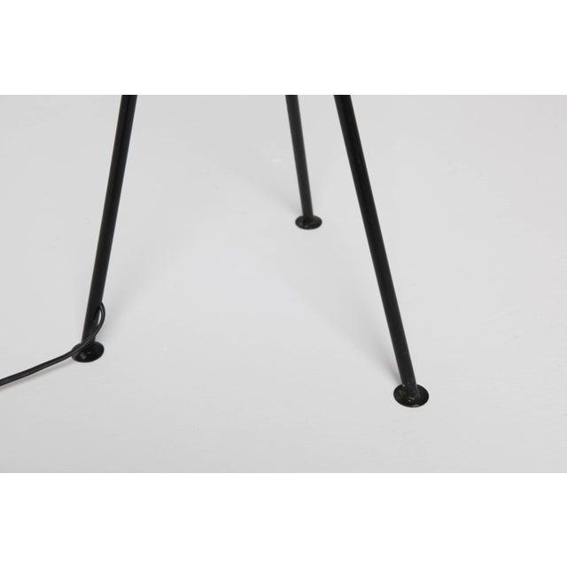 Black Pair of Mid-Century 'Grasshopper' Floor Lamps in the Manner of Greta Grossman - Price Per Lamp For Sale - Image 8 of 10