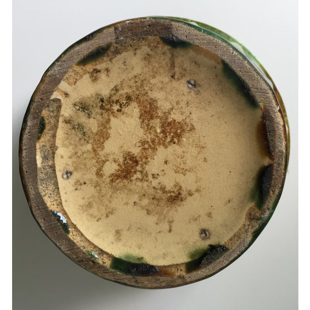 Antique Starburst Art Pottery Planter - Image 5 of 6