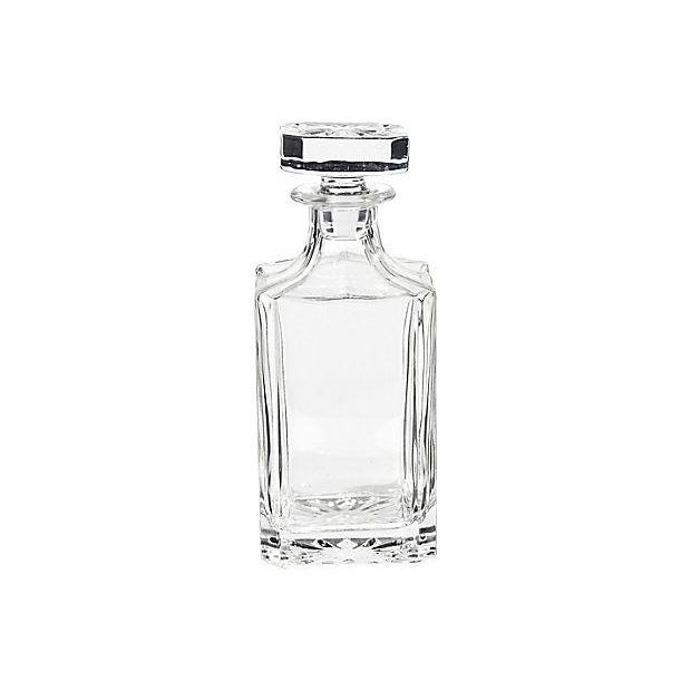 1950s Square Glass Decanter - Image 5 of 5
