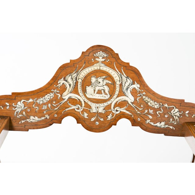 19th Century Savonarola Chairs - a Pair For Sale In San Francisco - Image 6 of 10