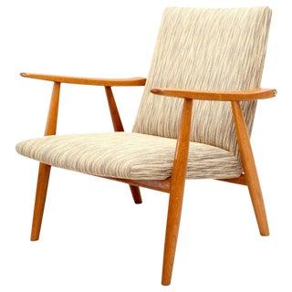 Hans Wegner GE-260 Lounge Chair For Sale