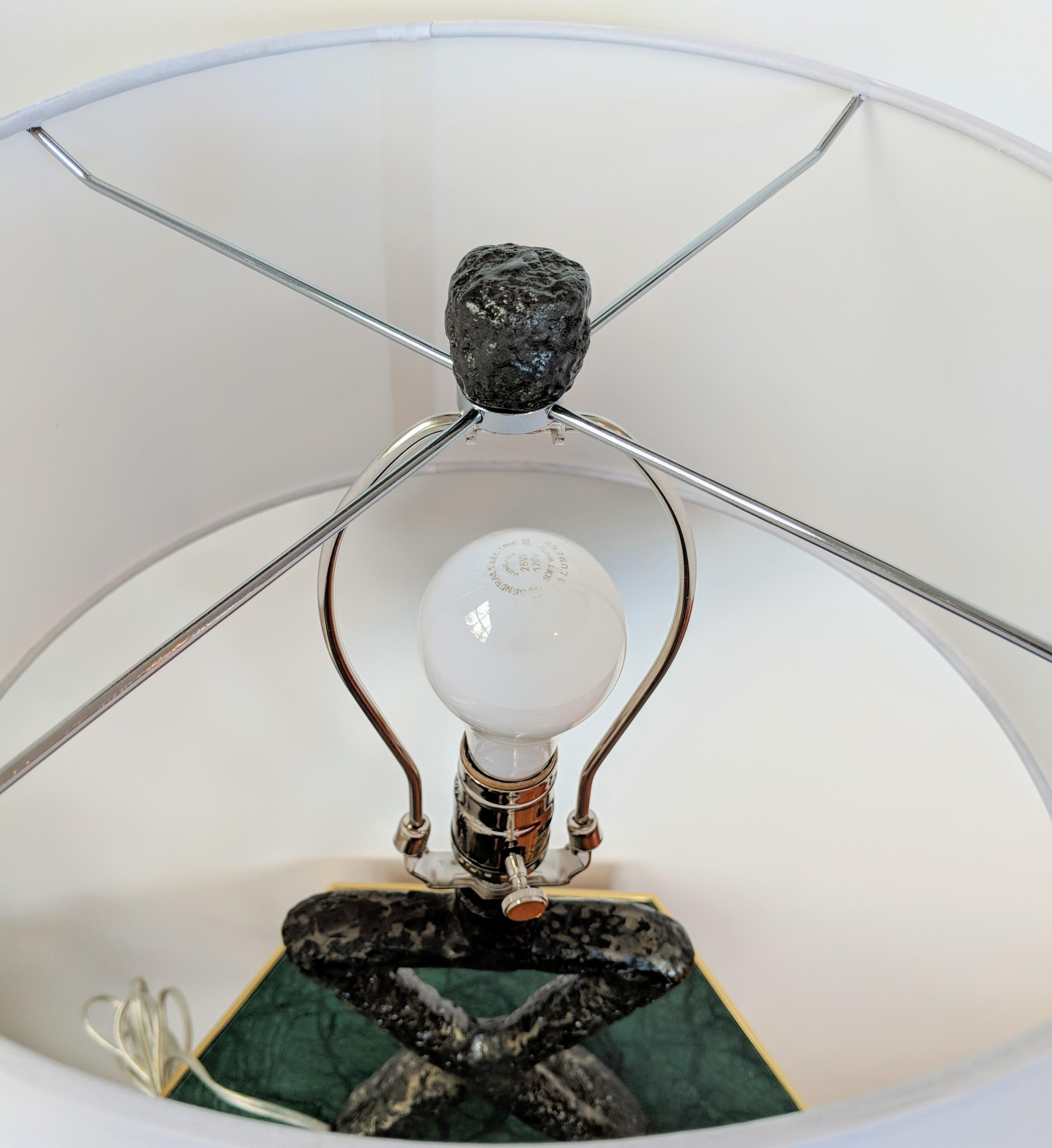 Minimalist Arteriors Home Packard Cast Iron Table Lamp   Image 6 Of 13