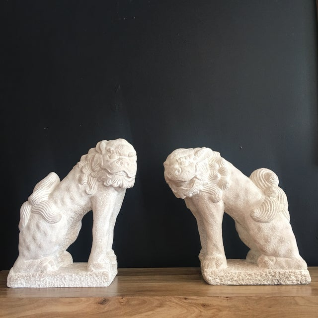 "Commonly referred to as ""Foo Dogs"" in the West, these figures actually represent lions and were traditionally placed on..."