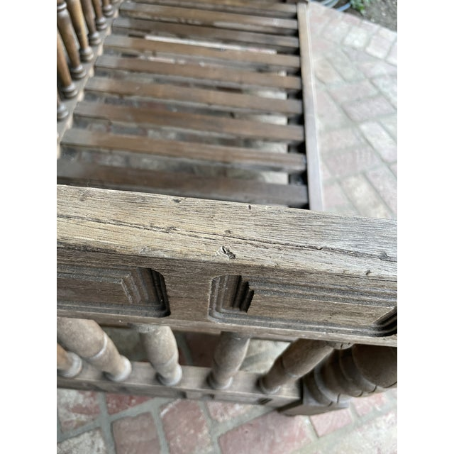Early 20th Century European Wood Daybed For Sale In Los Angeles - Image 6 of 9