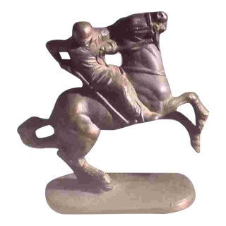 Vintage American Polo Player Figure For Sale