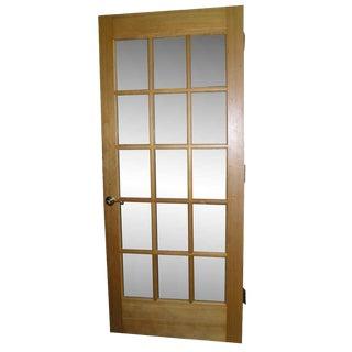 Heart Pine French Door Singles