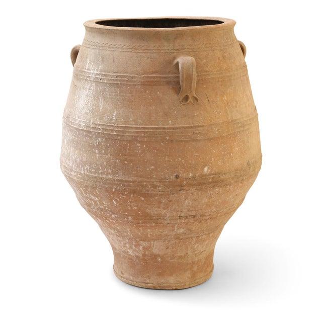 Mediterranean Antique Greek Olive Jar For Sale - Image 3 of 12
