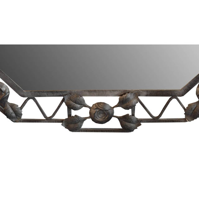 French Fer Forge Mirror - Image 3 of 4