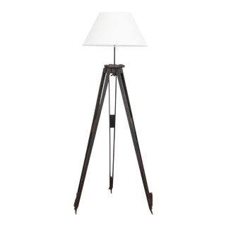 1920s Belgian Surveyors Lamp For Sale