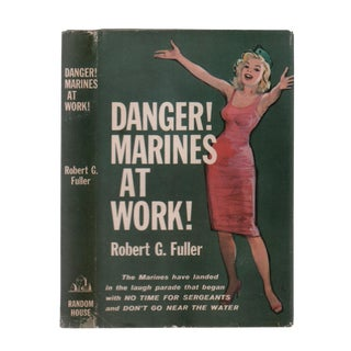 "1959 ""Signed Edition, Danger! Marines at Work"" Collectible Book For Sale"