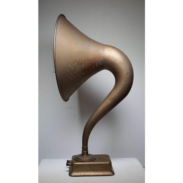 1920s Magnavox Metal Speaker Horn For Sale In San Francisco - Image 6 of 8