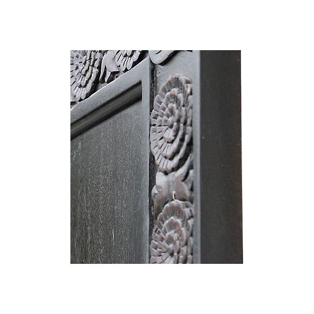 Carved Mahogany Finished Door - Image 5 of 5