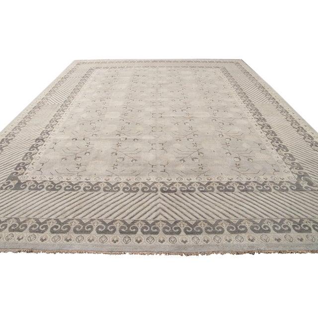 21st Century Modern Kohtan Wool Rug For Sale - Image 11 of 13